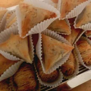 Nuts, Raisins and Shredded Coconut Pastry