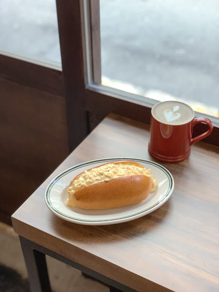 椿 珈琲|巷弄間的咖啡角落,蛋沙拉麵包、家常燉牛肉飯