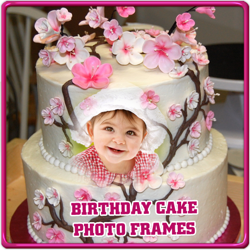 Happy Birthday Cake Frames