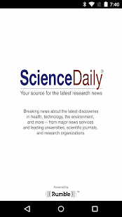 ScienceDaily- screenshot thumbnail