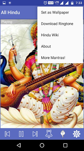 All Hindu Gods Mantra & Audio 1.2 screenshots 3