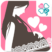 妊娠エコーフレーム-エコー写真をかわいいフレームでシェア-