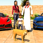 Virtual Happy Family: Billionaire Life Simulator Icon