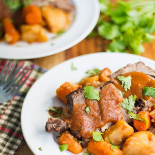 Instant Pot Roast and Gravy using Meat and Potatoes Seasoning