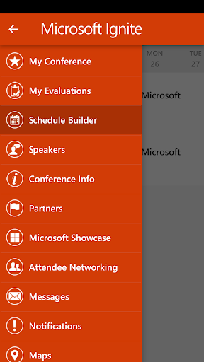 Microsoft Ignite Screenshot