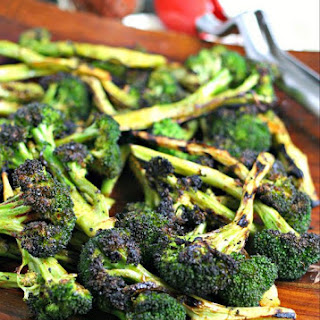 Perfect Grilled Broccoli.
