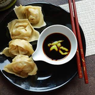 Chinese Vegetarian Wonton with Tofu(steamed Dumblings).