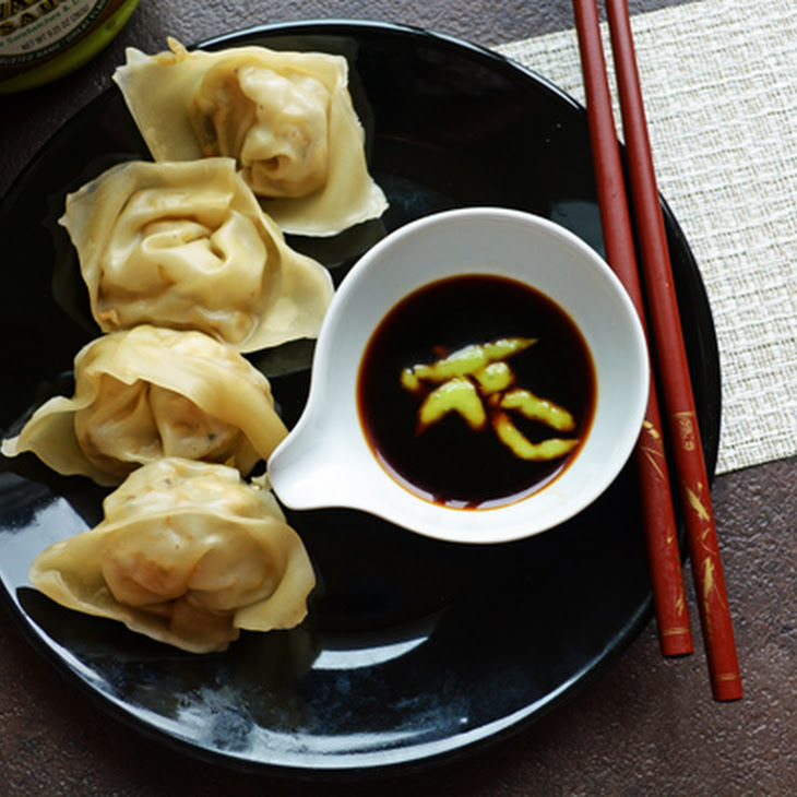Chinese Vegetarian Wonton with Tofu(steamed Dumblings)