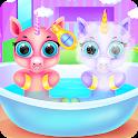 Baby Unicorns Caring and Dressup icon