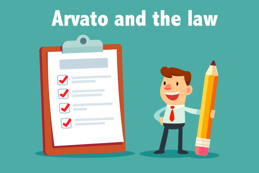 Arvato and the law