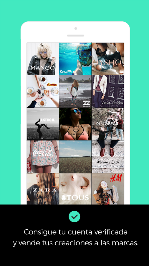 Adictik - Influencers de moda: captura de pantalla
