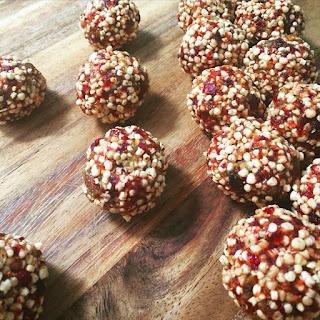 Cranberry And Quinoa Energy Balls (gluten-free).