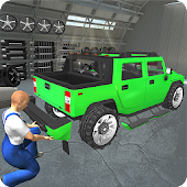 Hummer Car Mechanic 3D
