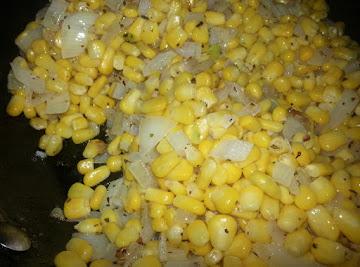Mama's Fried Corn Recipe