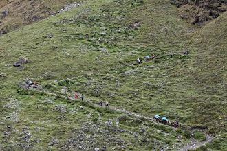 Photo: El zig-zag Mollepata - Machupichu Semana Santa 2015