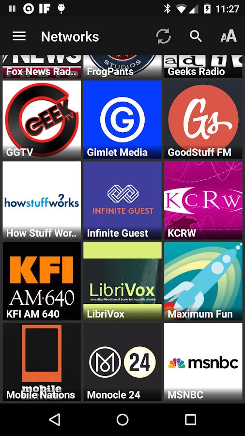 Podcast Addict - screenshot