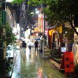 Nakano streets by night in Tokyo, Tokyo, Japan