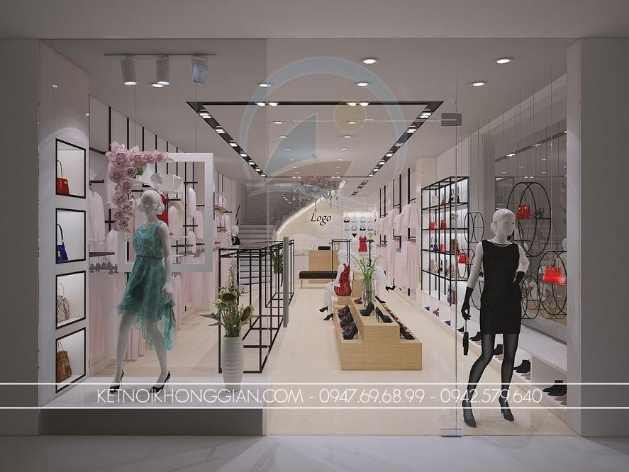 thiết kế shop thời trang nữ chuyên nghiệp