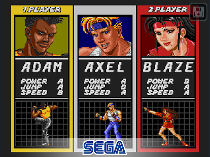 Streets of Rage Classic- screenshot thumbnail