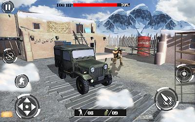 Desert Mountain Sniper Modern Shooter Combat
