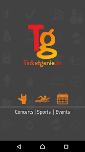 Ticketgenie- screenshot thumbnail