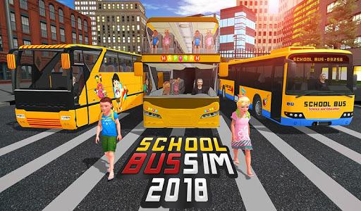School Bus Driver Simulator 2018: City Fun Drive 1.0.2 screenshots 14