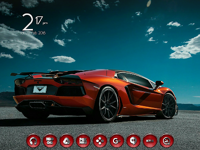 Dap Red - Icon Pack screenshot 12