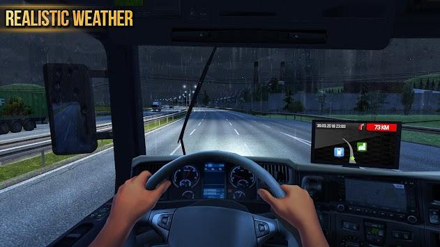 Truck Simulator 2018 : Europe APK screenshot thumbnail 6
