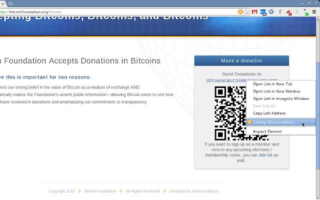 reverse lookup bitcoin wallet