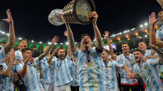 Messi logra su primer ansiado título con Argentina