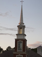 Photo: Day 19-Steeple at Sunset