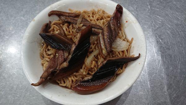 原眼鏡鱔魚意麵