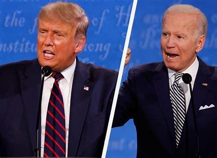 Image result for joe biden and trump first debate