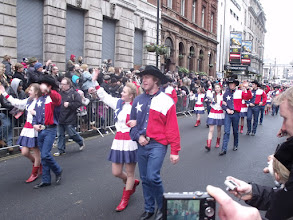Photo: Western Country Dancers from Texas.