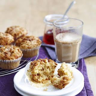 Strawberry-Oatmeal Muffins.