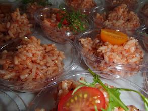 Photo: Petit saladier de riz à la camarguaise et farigoule