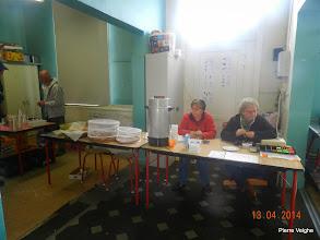 Photo: controlepost école Bois-de-Lessines