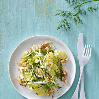 Potato, Crayfish and Dill Salad.