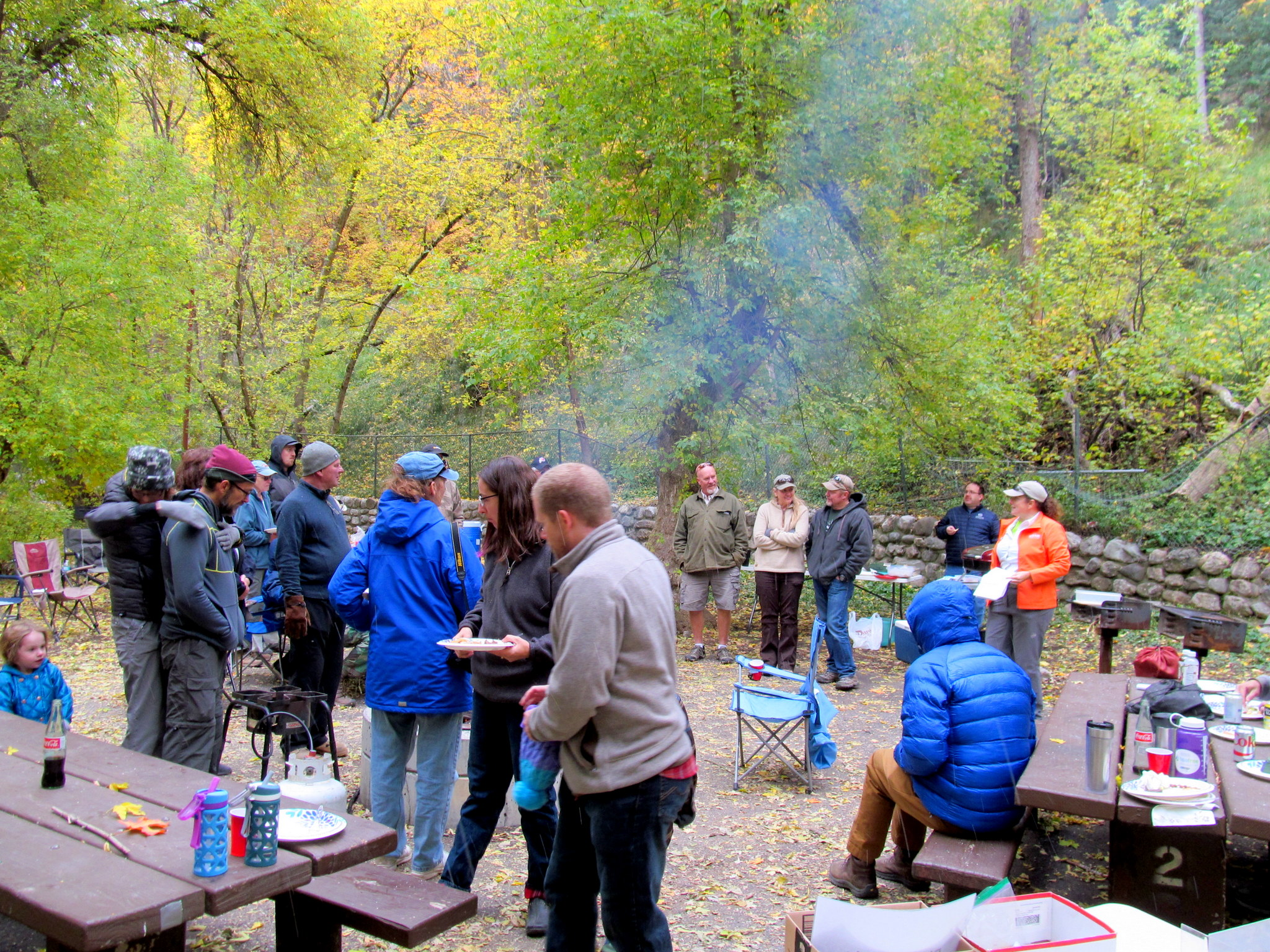 Photo: Lunch after the hike