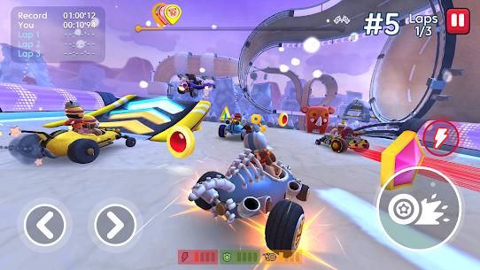 Starlit On Wheels: Super Kart 4