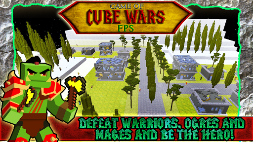 Game of Cube Wars FPS