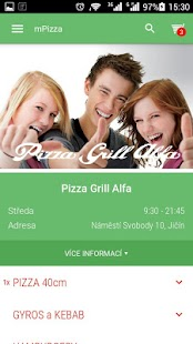 Pizza Grill ALFA- screenshot thumbnail