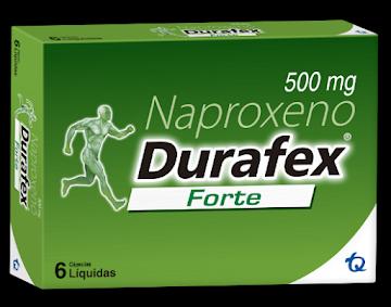 Naproxeno Durafex Forte 500mg x6 Caps liq. Naproxeno TQ