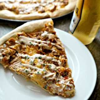 Pineapple Chipotle Chicken Pizza.