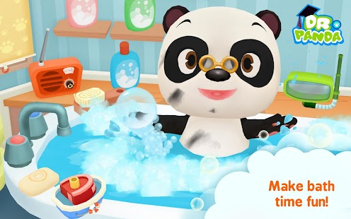 Dr. Panda Bath Time- screenshot thumbnail