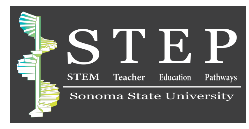 STEP STEM Teacher Education Pathways Sonoma State University logo