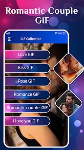 Romantic Love Couple GIF – Kiss GIF 3