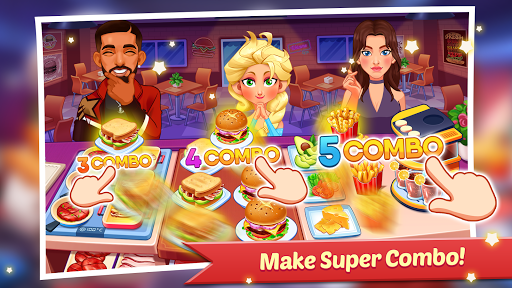 Code Triche Cooking Family : Craze Restaurant Food Game APK MOD screenshots 1