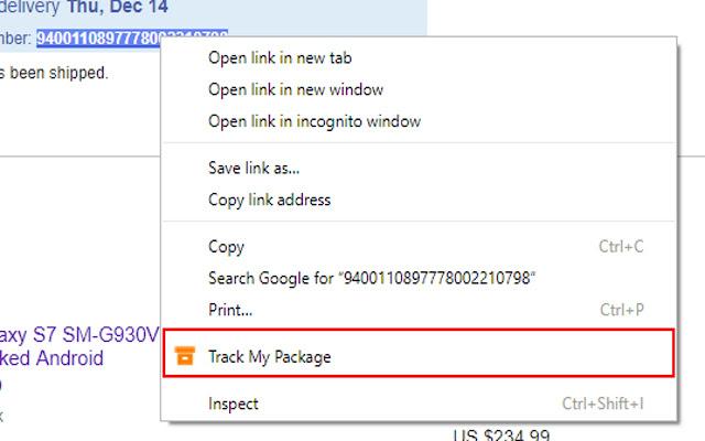 Easy Shipping Tracker