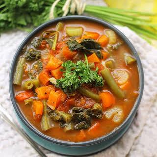 Detox Vegetable Soup.